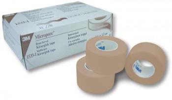 Micropore ihoteippi 1,25cm x 9,1m ihonvär. 15330